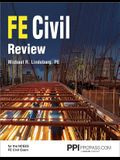 Ppi Fe Civil Review, 1st Edition (Paperback) - A Comprehensive Fe Civil Review Manual