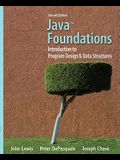Java Foundations: Introduction to Program Design & Data Structures [With CDROM]