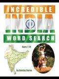 Incredible India Word Search