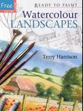 Watercolour Landscapes: Ready to Paint Watercolour Landscapes [With Six Reusable Tracings]