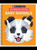 Brain Games - Sticker by Letter: Baby Animals