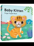 Baby Kitten: Finger Puppet Book: (Board Book with Plush Baby Cat, Best Baby Book for Newborns)