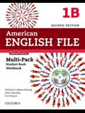 American English File Second Edition: Level 1 Multi-Pack B: With Online Practice and Ichecker [With CDROM]