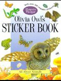 Olivia Owl's Sticker Book: A Maurice Pledger Sticker Book with over 150 Reversible Stickers!