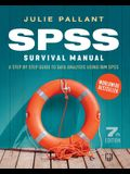 SPSS Surival Manual: A Step by Step Guide to Data Analysis using IBM SPS