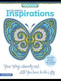Colorful Inspirations: Uplifting Quotes, Sayings, and Designs to Color