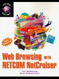 Web Browsing with Netcom Netcruiser