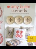 Amy Butler Stencils: Fresh, Decorative Patterns for Home, Fashion & Craft [With Stencils]