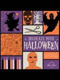 Decorate Your Halloween: An Adult Coloring Book of Halloween Crafts