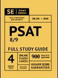 PSAT 8/9 Full Study Guide: Complete Subject Review with Online Video Lessons, 4 Full Practice Tests Book + Online, 900 Realistic Questions, Plus