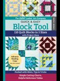 The New Ladies' Art Company Quick & Easy Block Tool: 110 Quilt Blocks in 5 Sizes with Project Ideas - Packed with Hints, Tips & Tricks - Simple Cuttin
