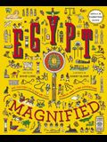 Egypt Magnified: With a 3x Magnifying Glass [With 3x Magnifying Glass]