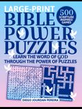 Bible Power Puzzles: Learn the Word of God Through the Power of Puzzles!