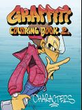 Graffiti Coloring, Book 2: Characters
