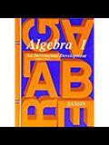 Saxon Algebra 1: Student Edition Third Edition Third Edition 1997