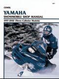 Yamaha Snowmobile Shop Manual 1997-2002 (Three-Cylinder Models)