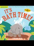 Indestructibles: It's Bath Time!: Chew Proof - Rip Proof - Nontoxic - 100% Washable (Book for Babies, Newborn Books, Safe to Chew)