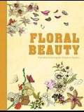 Floral Beauty: Portable Coloring for Creative Adults