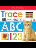 Trace, Lift, and Learn: ABC 123 (Scholastic Early Learners)
