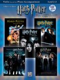 Harry Potter Instrumental Solos for Strings (Movies 1-5): Violin, Book & CD [With CD]