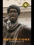 Meditations (Deluxe Library Binding) (Annotated)