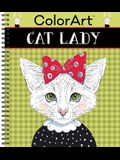 Colorart Coloring Book - Cat Lady