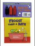 Froggy Takes a Bath Bath Book and Soap Crayons