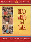Read, Write, and Talk: A Practice to Enhance Comprehension [With Study Guide]