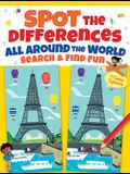 Spot the Differences All Around the World: Search & Find Fun