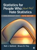 Statistics for People Who (Think They) Hate Statistics: Using Microsoft Excel