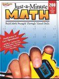 Just-A-Minute Math: Reproducible Grades 1-8