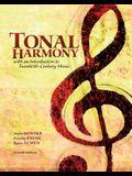 Tonal Harmony with Audio CS and Workbook