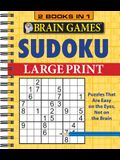 Brain Games - 2 Books in 1 - Sudoku