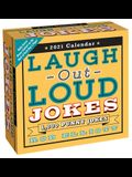 Laugh-Out-Loud Jokes 2021 Day-To-Day Calendar: 1,000 Punny Jokes