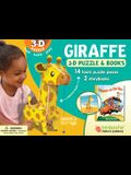 Giraffe: Wildlife 3D Puzzle and Books [With Book(s)]