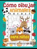 Cómo dibujar animales para niños: el divertido y emocionante libro de dibujo paso a paso para que los niños aprendan a dibujar sus animales favoritos