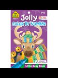 School Zone Jolly Color by Number Tablet Workbook