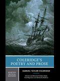 Coleridge's Poetry and Prose: Authoritative Texts Criticism