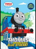 THOMAS AND THE BLUE