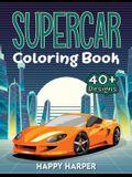 Supercar Coloring