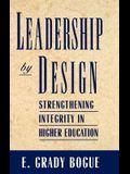 Leadership by Design: Strengthening Integrity in Higher Education