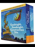 Goodnight, Goodnight, Construction Site and Steam Train, Dream Train Board Books Boxed Set (Board Books for Babies, Preschool Books, Picture Books for