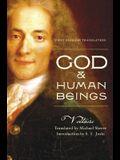 God & Human Beings: First English Translation