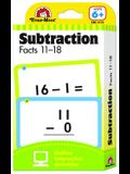 Flashcards: Subtraction Facts 11-18