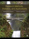 Research Methods, Statistics, and Applications