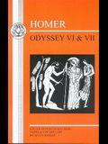 Homer: Odyssey VI and VII