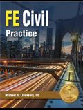 Ppi Fe Civil Practice, 1st Edition (Paperback) - Comprehensive Practice for the Ncees Fe Civil Exam