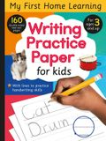 Writing Practice Paper for Kids: 160 Double-Sided Tear-Out Pages