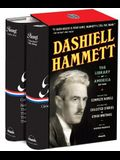 Dashiell Hammett: The Library of America Edition: (two-Volume Boxed Set)