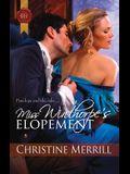 Miss Winthorpe's Elopement